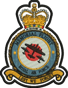 Memorial Flight Embroidered badge